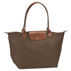 Large Longchamp Shoulder bag- camel, beige, or chocolate