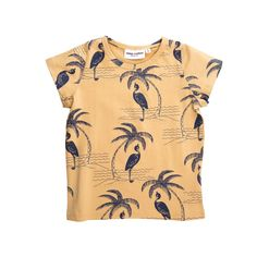 Mini Rodini Heron T-shirt - Mini Rodini Online - Kinderkleding Webshop Goldfish.be