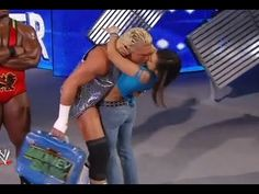 aj lee 2013 photos | AJ LEE Kissed Dolph Ziggler PART 3 HOT - Royal Rumble 2013