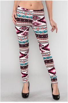 Love these Aztec Leggings.