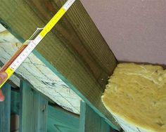 Plat dak langs binnen isoleren koud dak dakisolatie
