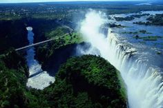 Victoria Falls, Africa, Border of Zambia and Zimbabwe | 8 Places You Need To Immediately Add To Your Bucket List