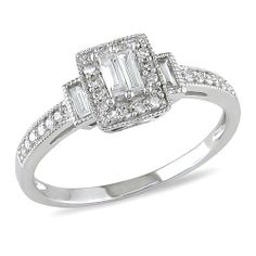 10K White Gold Engagement Ring Prices 57