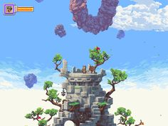 "platformerpower:  Owlboy System: TBA Status: In Development Release: TBA Developer: D-Pad Studio Website: owlboygame.com / dpadstudio.com / dpadstudio.tumblr.com Description: ""Owlboy is an vertical, open world adventure where you play as Otus, an owl with the power of flight. Featuring detailed pixel graphics, the game has large dungeons and open areas for you to explore, and multiple powers to unlock."""