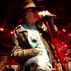 Guns N' Roses :: Brooklyn Bowl :: 6/6/13 #brooklynbowl #gnr #livemusic
