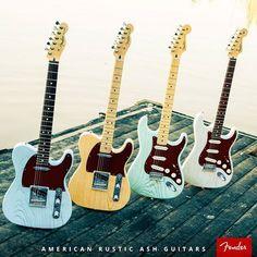 Telecaster / Stratocaster Jazz Guitar, Cool Guitar, Acoustic Guitar, Guitar Room, Guild Guitars, Fender Electric Guitar, Famous Guitars, Stratocaster Guitar, American Manufacturing