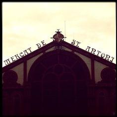 Al Mercat de Sant Antoni ho trobo tot :-) #Barcelona