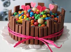 Kitkat love cake!