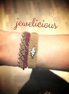 Macrame Knots, Macrame Bracelets, Pomegranates, Loom Weaving, Handmade Accessories, Beadwork, Friendship Bracelets, Pandora, Bangles