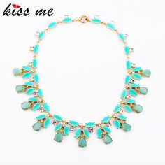 Fashion Accessories Sweet Small Fresh Women's Short Design All-match Bubble Bib Statement Necklace 2015 Wholesale