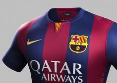 Camisa do Barcelona 2014-2015 Nike 3