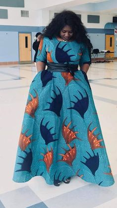 Ankara maxi dress from Diyanu African Fashion Ankara, Latest African Fashion Dresses, African Print Fashion, Ankara Maxi Dress, Long African Dresses, African Print Dresses, African Print Dress Designs, Africa Dress, African Fashion