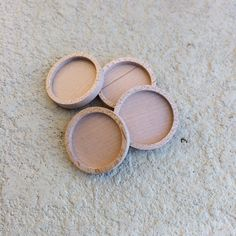 Unfinished   Wooden Bezels by ArtBASE  Maple Wood  30 by artbase, $13.40