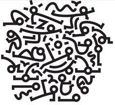 Si Keith Haring faisait du Pilates !