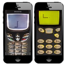 This app turns your iPhone into an old Nokia complete with Snake.