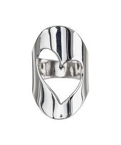 Look at this #zulilyfind! Sterling Silver Heart Cutout Ring by Ag Sterling Jewelry #zulilyfinds
