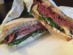 Amazing sandwich from Rose's Meats and Sweets