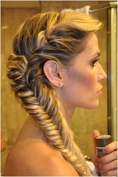 20 Fishtail Braided Hairstyles: Bun, Ponytail, Prom, Messy Braid ...
