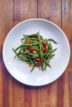 Szechuan Dry Fried Green Beans