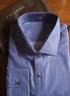 J. Hilburn custom shirts.