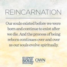 Dr. Brian Weiss on reincarnation with Oprah Winfrey