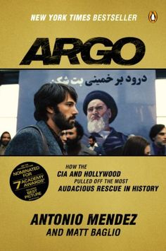 Argo: How the CIA and Hollywood Pulled Off the Most Audacious Rescue in History by Antonio Mendez, http://www.amazon.com/dp/B007V65PLA/ref=cm_sw_r_pi_dp_KakZsb1QQBAA4