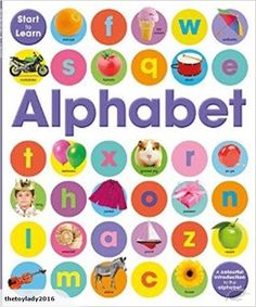 Start to learn: Words | Pre-School & Early Learning  This bright and attractive book introduces the key concept of the alphabet to support your child's early le...