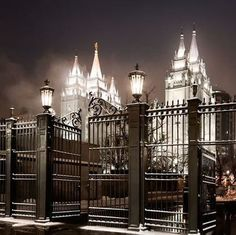 """Oh, how glorious from the throne above shines the gospel light of truth and love! Bright as the sun, this heavenly ray lights ev'ry land today."" https://www.facebook.com/pages/Temples-of-The-Church-of-Jesus-Christ-of-Latter-day-Saints/163927770338391 Salt Lake Mormon/LDS Temple"