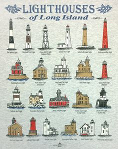 lighthouses of long island