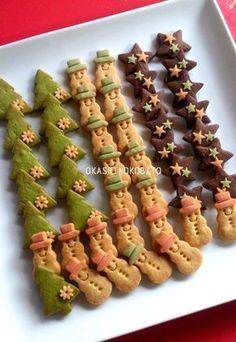 クリスマスクッキーとクリスマスのギフトボックス | アイシングクッキーおかしのこびとのブログ
