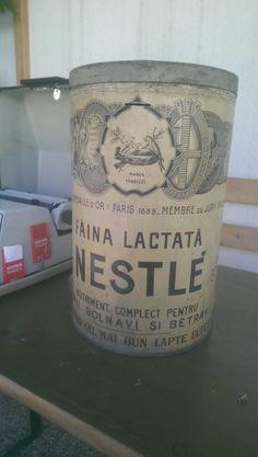 Faina Lactata. Nestlé. Old Milk tin