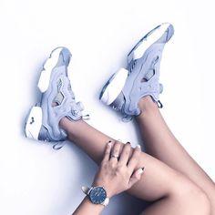 Sneakers femme - Reebok Instapump Fury ©blatantlyblue