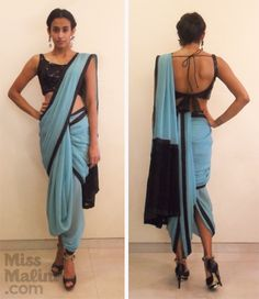 "Exclusive: How To Drape The ""Dhoti"" Sari Like Sonam Kapoor! - MissMalini"