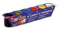 Primo Barvy temperové  6×25 ml, v kelímkách Personal Care, Color, Self Care, Personal Hygiene, Colour, Colors