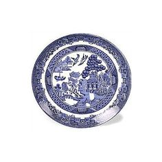 Johnson Brothers Willow Blue Tea Saucer | Wayfair