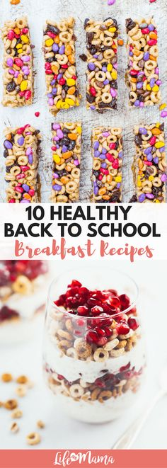 Check out our list of healthy back to school breakfast recipes that will keep your kids full and ready to learn.