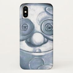iPhone Case X HAPPY FACE Iphone 11, Apple Iphone, Iphone Cases, Moon Face, Sticker Shop, Plastic Case, Make You Smile, Gifts For Dad, Make It Yourself