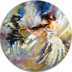 East Urban Home Abstract Love with Endless Music Blanket Size: W x L Music Painting, Painting Prints, Paintings, Free Art Prints, Wall Art Prints, Wall Mural, Violin Art, Art Et Illustration, Small Art