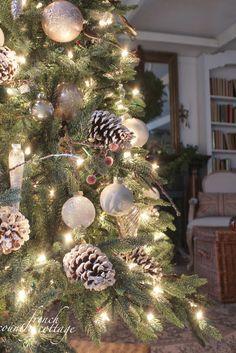 winter wonderland tree - Woodsy Christmas Tree Decorations