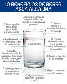 Propiedades y beneficios del agua alcalina - Toes Tutorial and Ideas Agua Kangen, Skin Secrets, Dr Oz, Herbalife, Healthy Life, Health Tips, Smoothies, Dental, Remedies