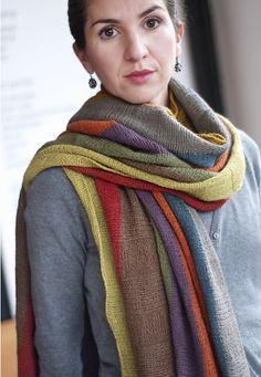 Ravelry: stole pattern by Theresa Gaffey