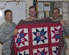 What an attractive Quilt of Valor!
