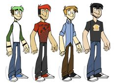 The Revelmode Squad by cartoonjunkie on DeviantArt