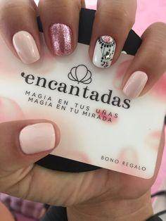 - #Diseñosdeuñas #Uñasacrilicas #Uñasbonitas #Uñascortas #UñasDeGel #Uñasdecoradasdemoda #Uñasgelish Love Nails, Fun Nails, Pretty Nails, Shellac Nails, Acrylic Nails, Holloween Nails, Short Nails Art, Diamond Nails, Gel Nail Art