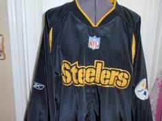 Free Stuff: Pittsburg Steelers Pull Over Wind Breaker Jacket ~ka