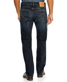 Levi's Men's 505 Regular-Fit Jeans, Navarro Wash - Jeans  under $40 - Men - Macy's Navarro Wash  Navarro Wash  Navarro Wash