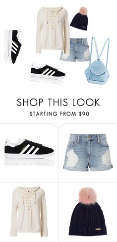 """""""Untitled #488"""" by nikkirozaye on Polyvore featuring adidas, Frame, NSF, Burberry and MANU Atelier"""