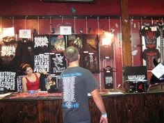 How to Set Up a Killer Merch Table at Your Next Show