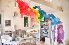 Rainbow Color Scheme.
