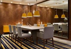Assim eu gosto - blog de arquitetura | decoração. Seleção de salas de jantar lindas e muito atuais, com ideias e dicas de tendências para estes ambientes.